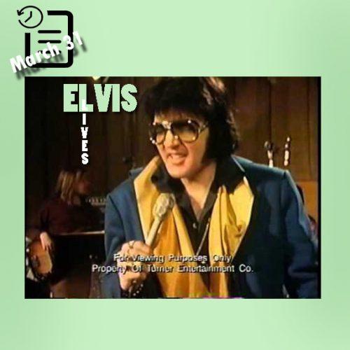 الویس در استودیو کالیفرنیا چنین روزی 31 مارس 1972