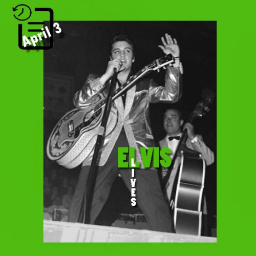 الویس در سالن بزرگ اتاوا، کانادا در چنین روزی 3 آوریل 1957