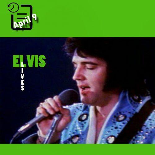 الویس در سالن بزرگ، همپتون، ویرجینیا چنین روزی 9 آوریل 1972 (ساعت 8 شب)