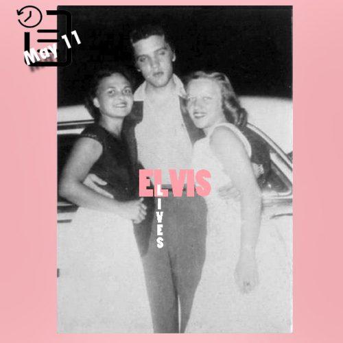الویس در شهر شهر اورلاندو، فلوریدا چنین روزی 11 مه 1955