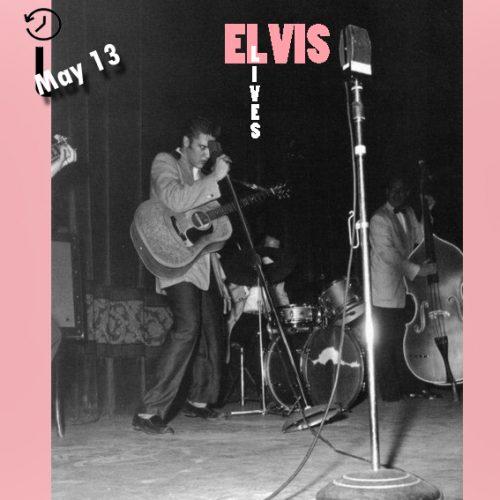 الویس در سالن شهر مینیاپولیس چنین روزی 13 مه 1956