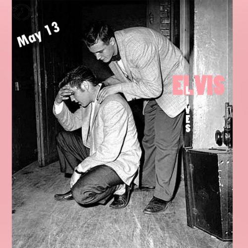 خستگی زیاد الویس بعد از اجرا در سالن شهر مینیاپولیس چنین روزی 13 مه 1956