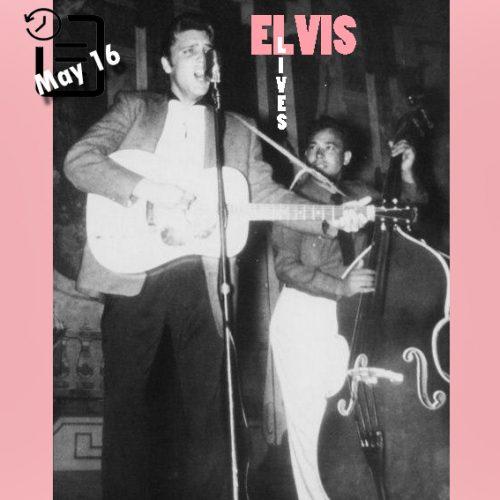 الویس در سالن، نورفولک ویرجینیا چنین روزی 15 مه 1955