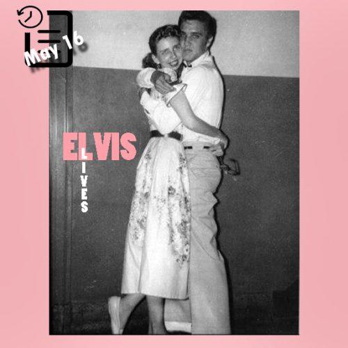 الویس در Mosque Theater، ریچموند، ویرجینیا چنین روزی 16 مه 1955