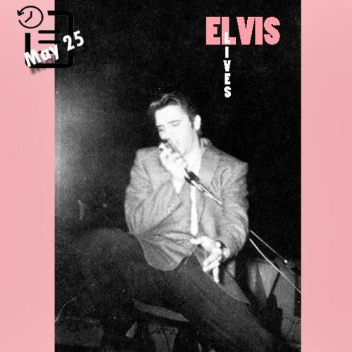 الویس در Fox Theater، شهر دیترویت، میشیگان چنین روزی 25 مه 1956