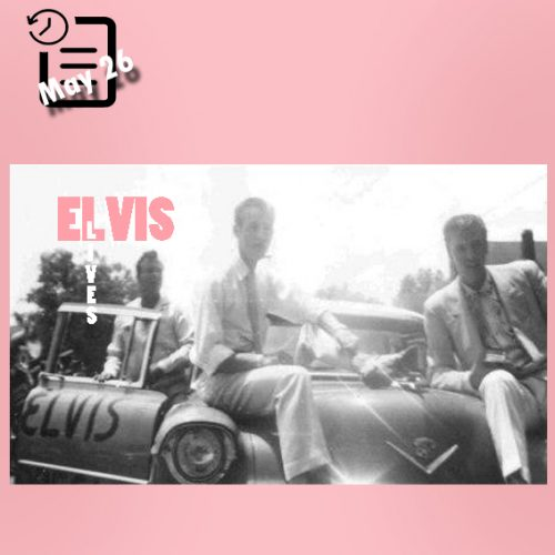 الویس در شهر مریدین، می سی سی چنین روزی 26 مه 1955