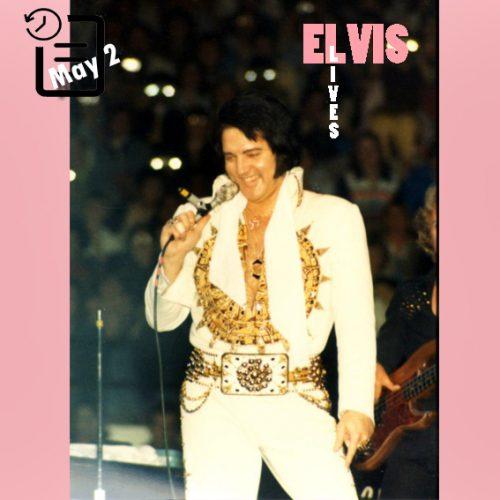 الویس در ورزشگاه شیکاگو، شهر شیکاگو، ایلینوی در چنین روزی 2 مه 1977
