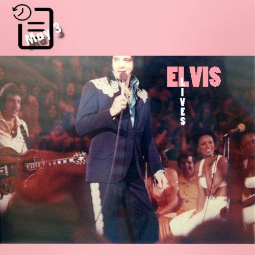 الویس در ساعت های 2:30 بعد از ظهر و 8:30شب در مرکز اجتماعات شهر منروو، لوئیزیانا چنین روزی 3 مه 1975