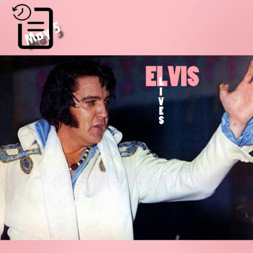 الویس در Mississippi State Fair Coliseum، شهر جکسون، ایالت می سی سی پی چنین روزی 5 مه 1975