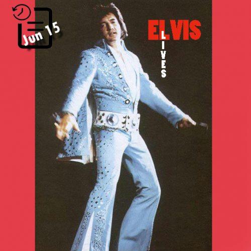 الویس در تالار سرپوشیده میلواکی ،شهر میلواکی، ویسکانسین چنین روزی 15 ژوئن 1972