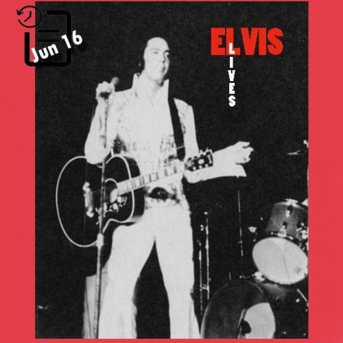 الویس در اجرای ساعت 3 بعد از ظهر در مرکز کنوانسیون شهرستان تارانت ، فورت ورث، تگزاس چنین روزی 16 ژوئن 1974