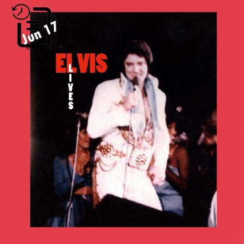 الویس در جنوب غربی ایالت میسوری در دانشگاه هامنز سنتر ، شهر اسپرینگفیلد، میسوری چنین روزی 17 ژوئن 1977