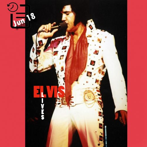 الویس در مرکز کنوانسیون شهرستان تارانت ، فورت ورث، تگزاس چنین روزی 18 ژوئن 1972