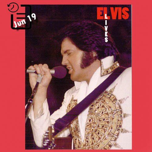 الویس در سالن مدنی آرنا (Civic Auditorium Arena)، شهر اوماها، نبراسکا چنین روزی 19 ژوئن 1977
