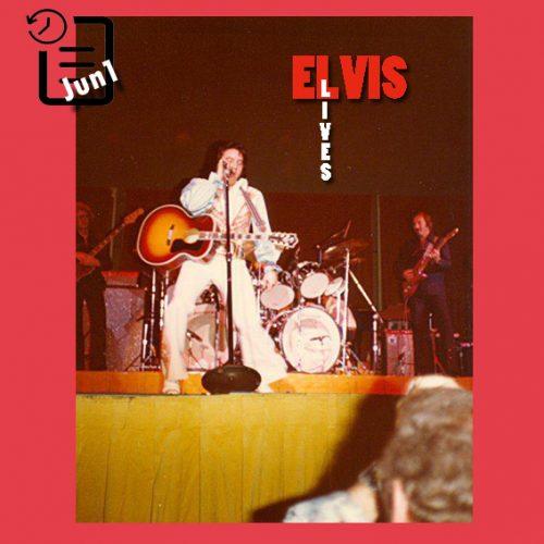 الویس در Community Center Arena، شهر توسان، آریزونا چنین روزی 1 ژوئن 1976