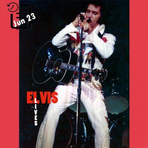 الویس در اسپکتروم ، فیلادلفیا ،پنسیلوانیا (اجرای ساعت 8:30) چنین روزی 23 ژوئن 1974