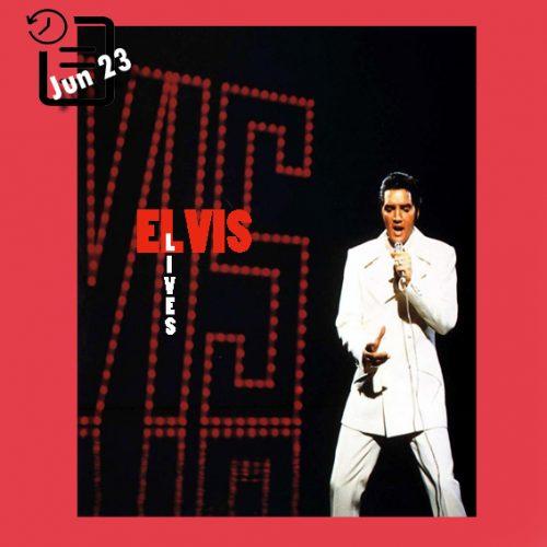 """الویس در حال اجرای ترانه """"If I Can Dream"""" چنین روزی 23 ژوئن 1968"""