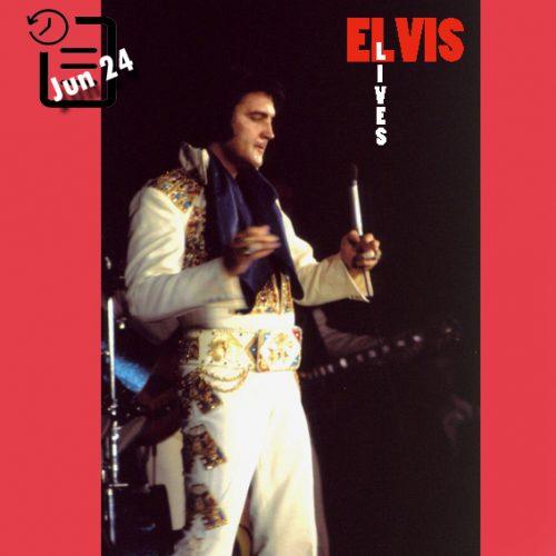 الویس در مرکز کنوانسیون بین المللی، آبشار نیاگارا، نیویورک چنین روزی 24 ژوئن 1974