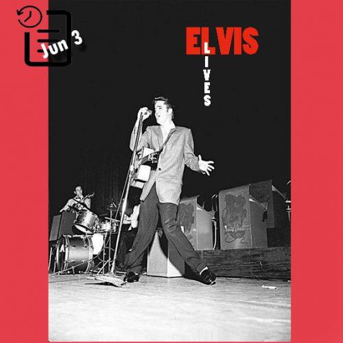 الویس در سالن آرنا، اوکلند، کالیفرنیا چنین روزی 3 ژوئن 1956