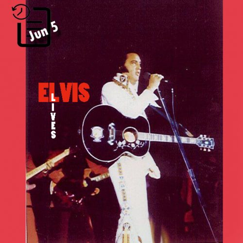 الویس در Hofheinz Pavilion ، شهر هوستون چنین روزی 5 ژوئن 1975