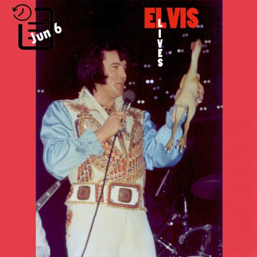 الویس در اومنی، آتلانتا جورجیا چنین روزی 6 ژوئن 1976