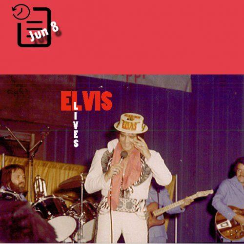 الویس در ساعت 2:30 بعد از ظهر در سالن بزرگ نمایشگاه ایالتی ، جکسون، می سی سی چنین روزی 8 ژوئن 1975