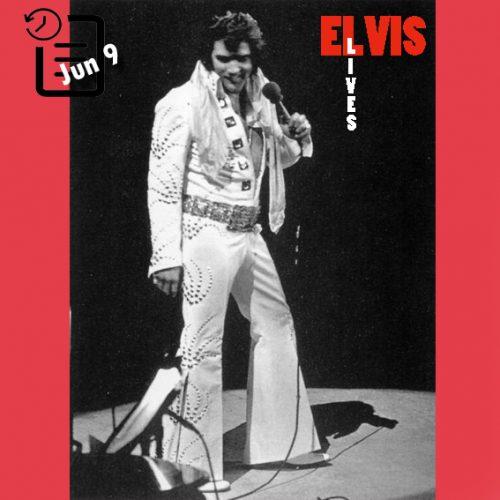 الویس در Madison Square Garden، نیویورک چنین روزی 9 ژوئن 1972