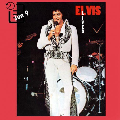 الویس در سالن بزرگ نمایشگاه ایالتی ، جکسون چنین روزی 9 ژوئن 1975