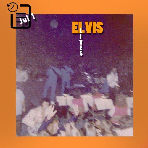 الویس در سالن آرنا، اوماها نبرسکا چنین روزی اول ژوئیه 1974