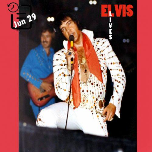 الویس در اومنی، آتلانتا جورجیا چنین روزی 29 ژوئن 1973