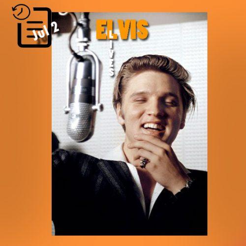 الویس در استودیو RCA در چنین روزی 2 ژوئیه 1956