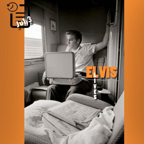 الویس در قطار به مقصد ممفیس چنین روزی 3 ژوئیه 1956