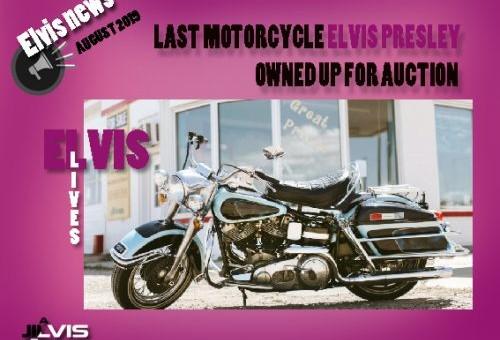 حراج آخرین موتورسیکلت الویس