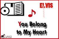 You Belong To My Heart