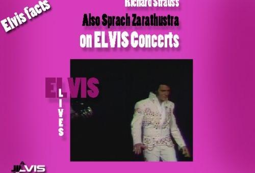 چنین گفت زرتشت ، در کنسرتهای الویس